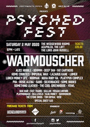 Psyched Fest Announcement