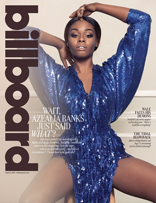 azealia billboard cover