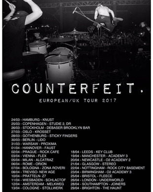 counter tour