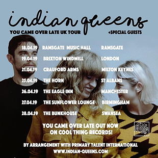 indian queens tour