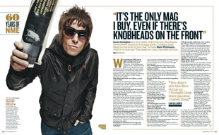 Liam Gallagher NME 60