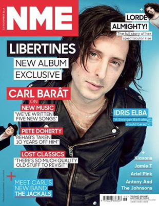 Carl Barat of The Libertines