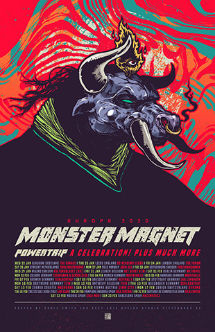 monster magnet europe