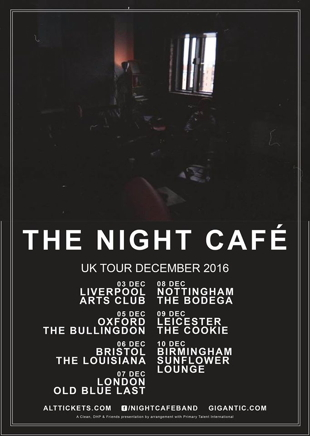 night cafe tour