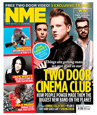 2 door cinema club nme cover