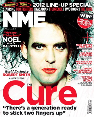 The Cure NME Cover