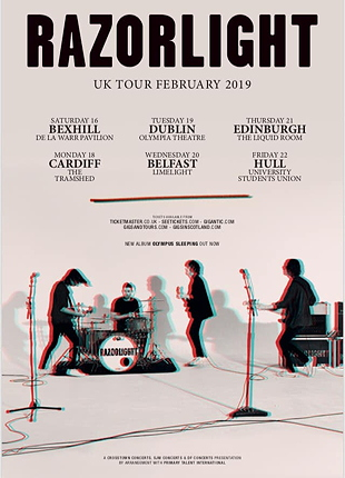 razorlight tour