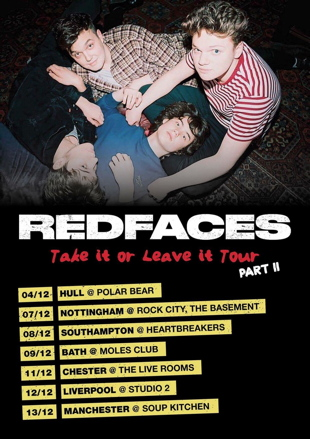 redfaces tour