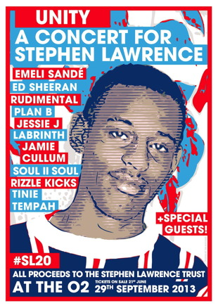 Stephen Lawrence Concert