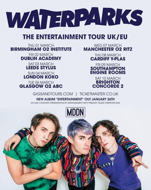 waterparks tour